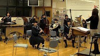 部員8人、ちっちゃな強豪吹奏楽部 島根・大田三中 thumbnail