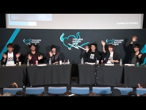 【TAMASHII NATION 2018】『DOUBLE DECKER! ダグ&キリル』トークステージ