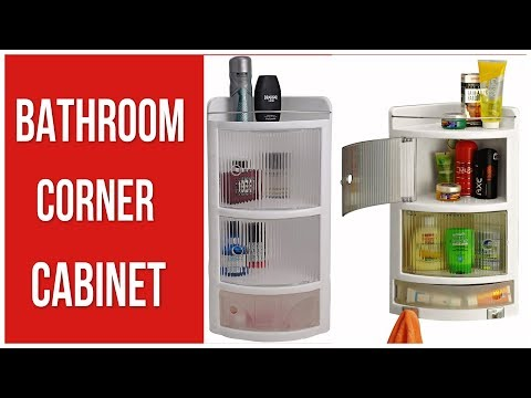 bathroom-corner-cabinet---bathroom-corner-shelves-unboxing-and-review