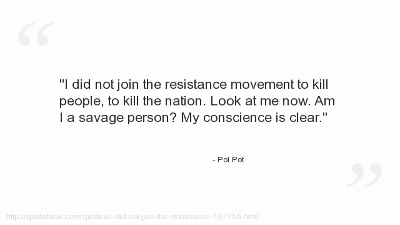 Pol Pot Quotes Pol Pot Quotes  Youtube