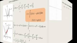 Интеграл для нахождения площади фигуры ч1