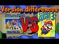 Version Differences - Super Mario Bros.