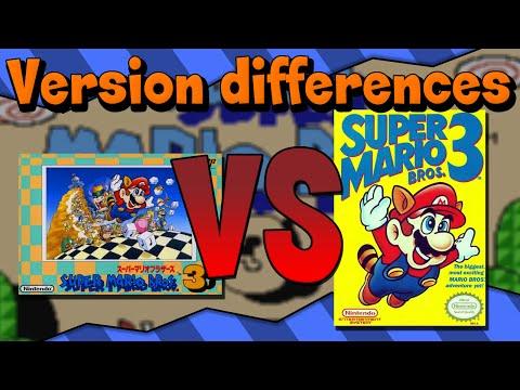 Version Differences - Super Mario Bros. 3