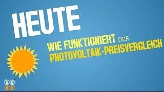 Wie funktioniert der Photovoltaik-Preisvergleich? - einfach erklärt