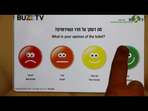 Buzz-Tv at Soroka Hospital