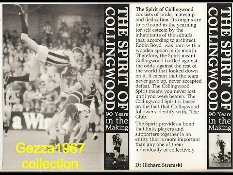 The Spirit of Collingwood- The Full Historic Video Production Made In 1985.