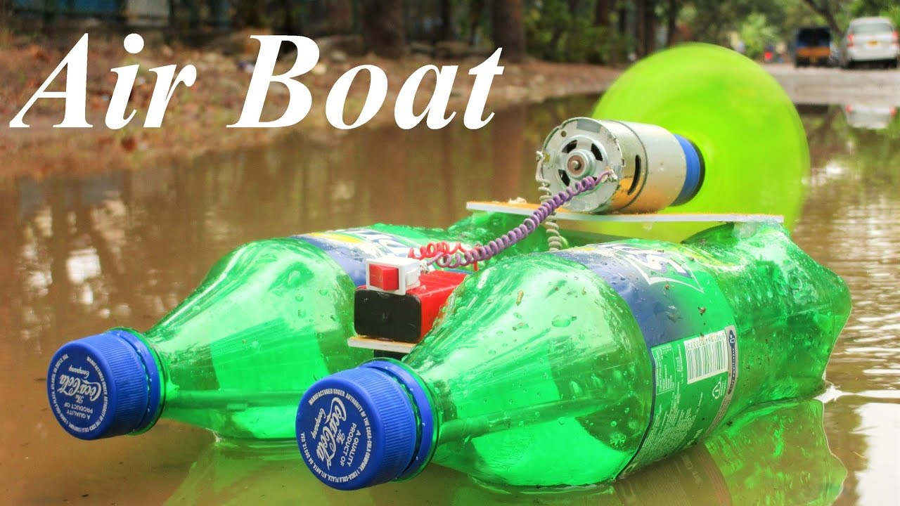 How To Make A Powerful Electric Boat Airboat Very