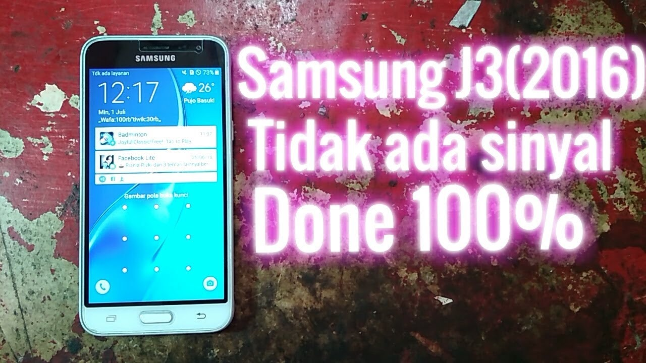 Samsung J3 Network Solution