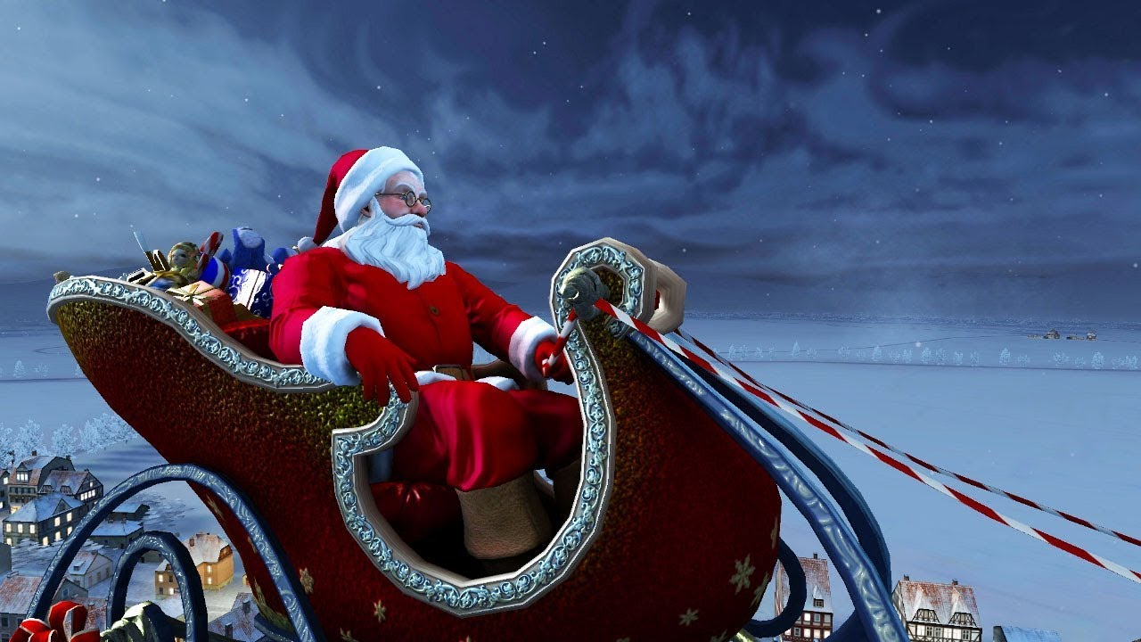 Santa Claus 3D Screensaver Live Wallpaper HD