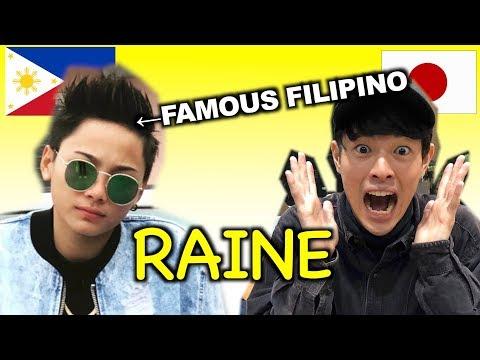 I MET FAMOUS FILIPINO IN JAPAN!!!(Raine Takada) レイン君とコラボ!!!