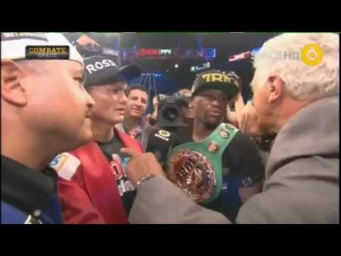 Maidana & Mayweather - Interview post fight - Ring Side