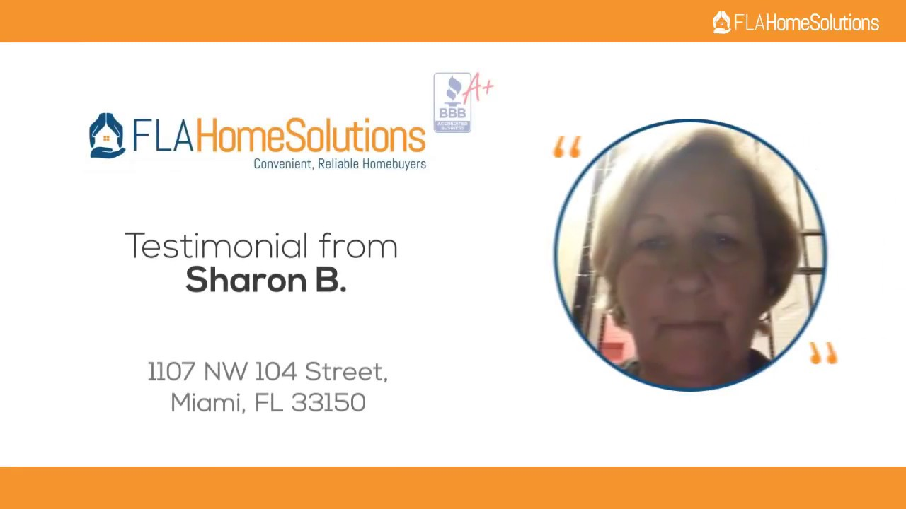 Visit www.FLAHomeSolutions.com or Call 305-602-4105 - Sharon's Testimonial for Creative RE-Solutions