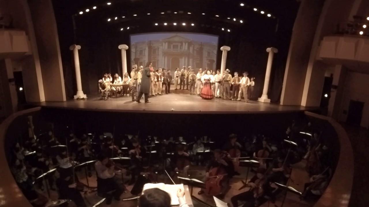 洗足学園音楽大学オペラ公演・歌劇「カルメン」 360度動画(その1)