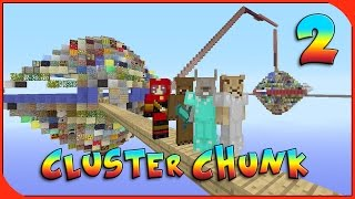 Minecraft Xbox - Cluster Chunk - Ft. LionMaker [Part 2]