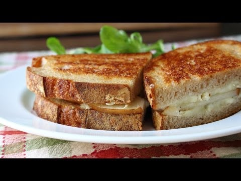 Grilled Brie & Pear Sandwich Grilled Cheese Sandwich Recipe