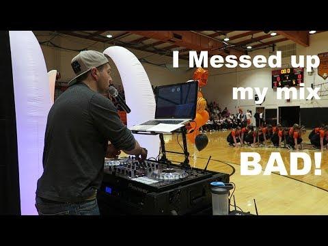 Pep Rally DJ | Gig Log 055