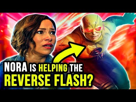 Nora IS Working With the REVERSE FLASH? - The Flash Season 5