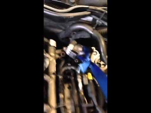 EGR valve removal Mercedes W204