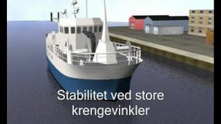 Stabilitets video - lær deg stabilitet for skip på en grunnleggende måte