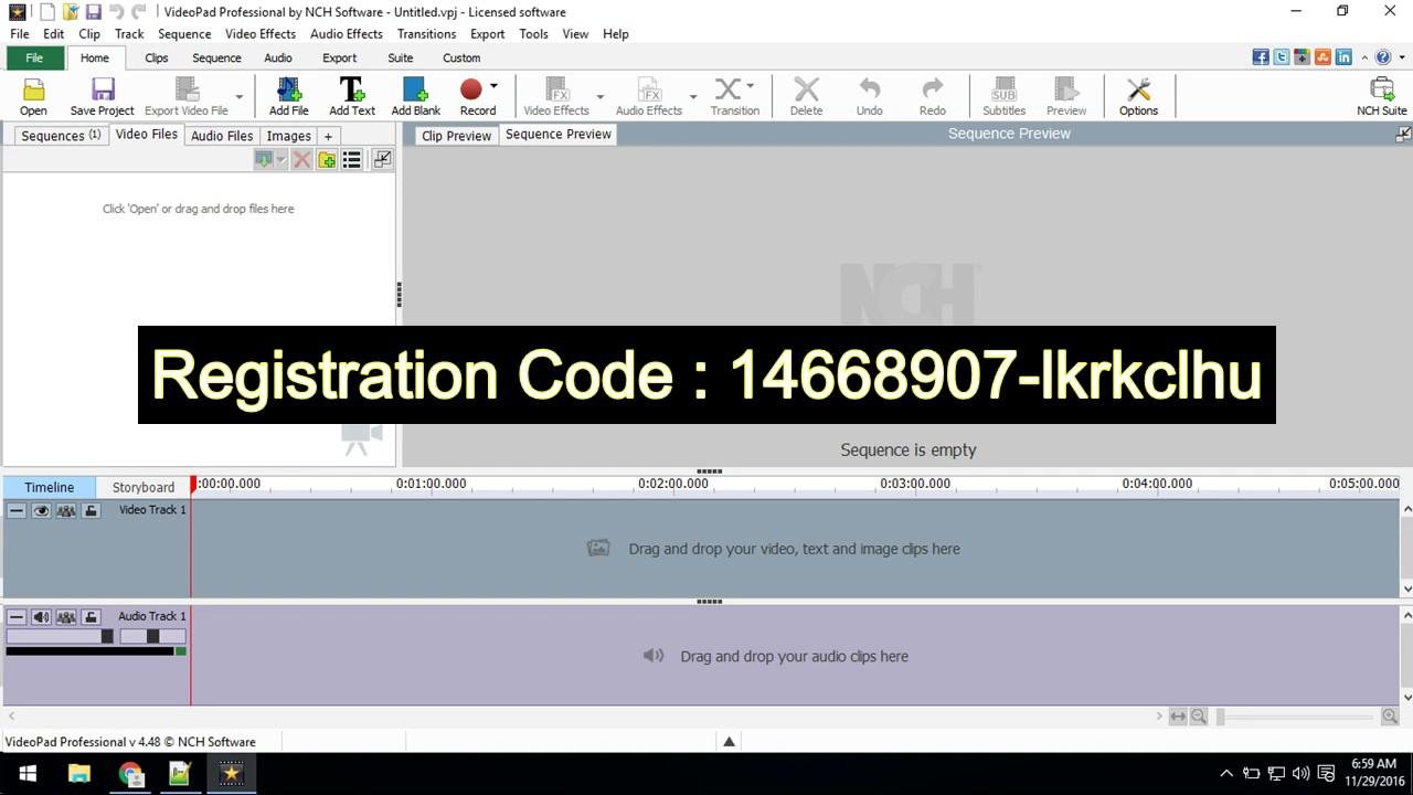 code videopad