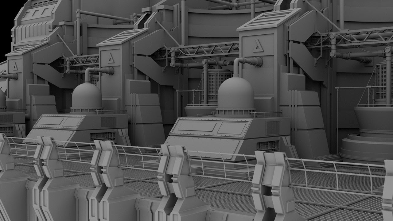 New Tutorial Sci Fi Set Modeling In Maya With Ashish Dani