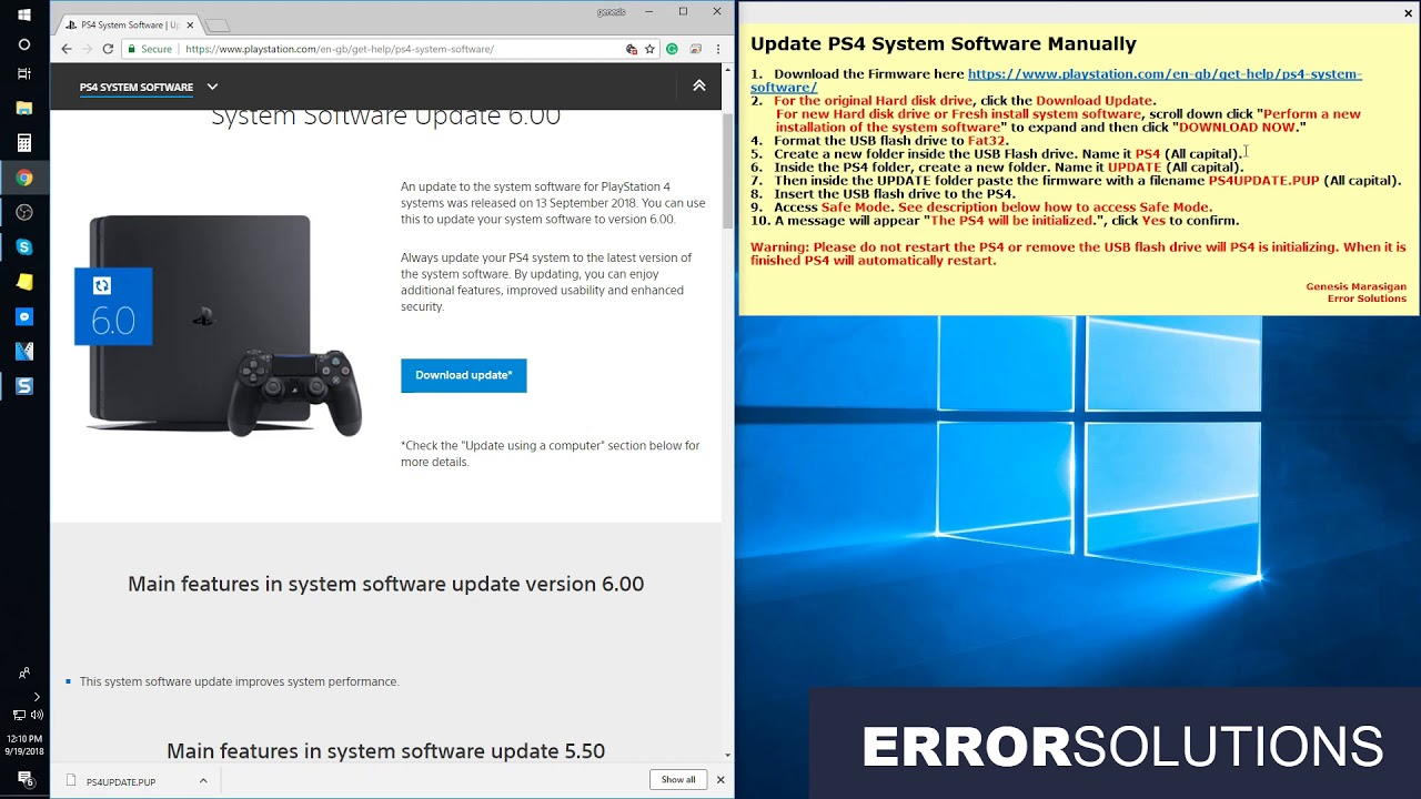 How to fix PS4 error SU-30634-6 - Error Solutions