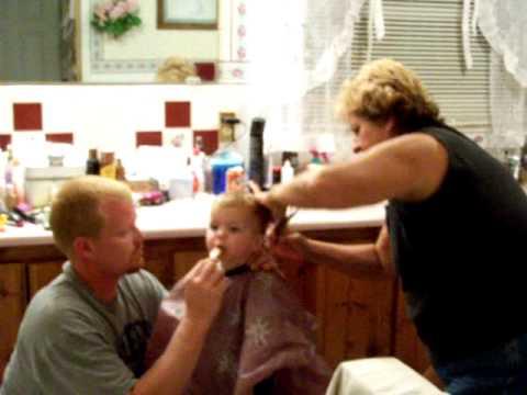 Elliott First Hair Cut