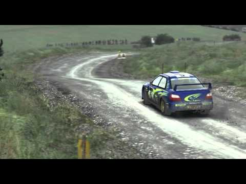 DiRT Rally Wales Subaru WRC 2001 Replay