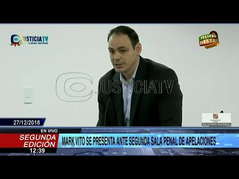 Mark Vito reitera inocencia ante presunta compra ilícita de terrenos en Chilca