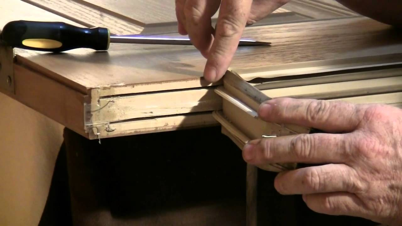 Door Insulation Replacing The Door Sweep   YouTube