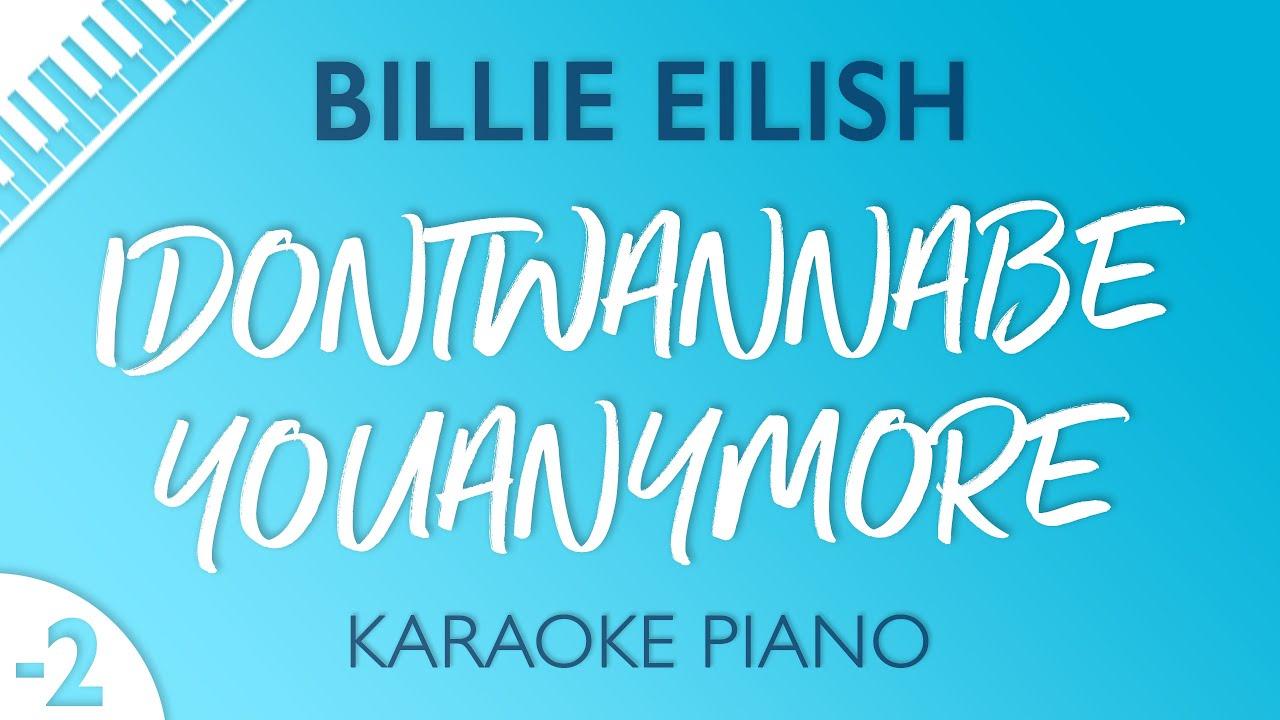 Watch billie eilish karaoke lower key