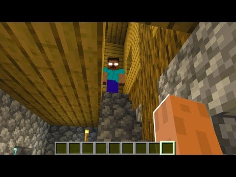 Herobrine was waiting on me in Minecraft.. (Scary Minecraft Video)