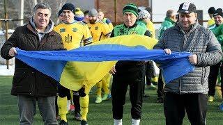 Ветерани «Карпат» зіграли товариський матч проти воїнів та волонтерів АТО