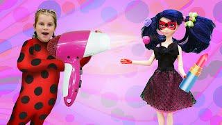 Леди Баг и Супер Кот идут на свидание. Игры одевалки для девочек.