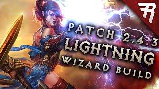 2.4.3 Wizard Lightning Build - Diablo 3 Reaper of Souls Season 9