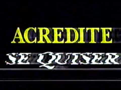 Comercial Rede Manchete - ACREDITE SE QUISER