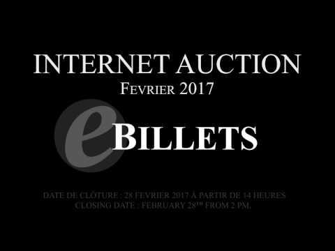 Internet Auction - Février 2017