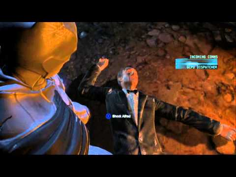 Batman Arkham Orgins: Alfred Death Scene