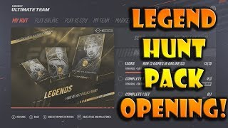 NHL 19 Hunt For New Legends Pack Opening!