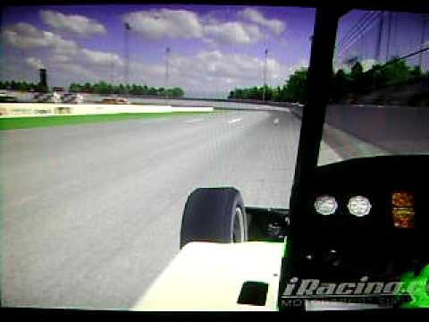 iracing silver crown at usa speedway.. dirt style.. Travel Video
