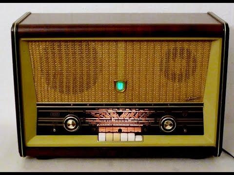 ALEMANA RADIO ANTIGUA DE VALVULAS  B5X63A Philips
