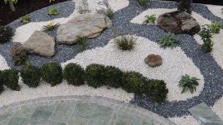 видео Мраморная крошка в ландшафтном дизайне участка
