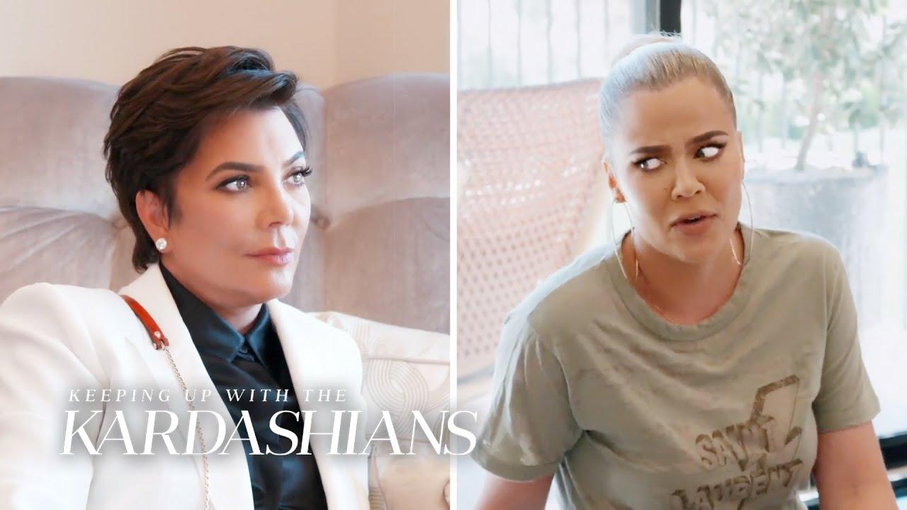 Khloé Kardashian Talks Co-Parenting Dilemma | KUWTK | E!