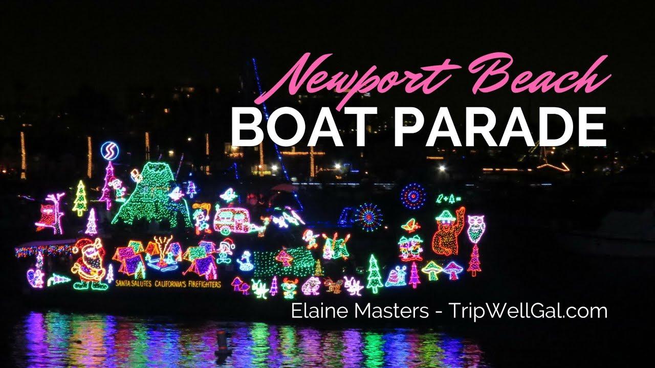 Newport Beach Christmas Lights Cruise.Lights Boats Fireworks Newport Beach Christmas Boat Parade
