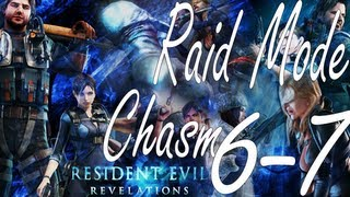 Resident Evil Revelations Raid Mode Chasm Stage 6-7 (Co-Op)