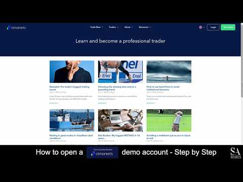 How to Open a CLMarkets / Core Liquidity Markets Demo Account - A Step By Step Guide for Beginners 🔎
