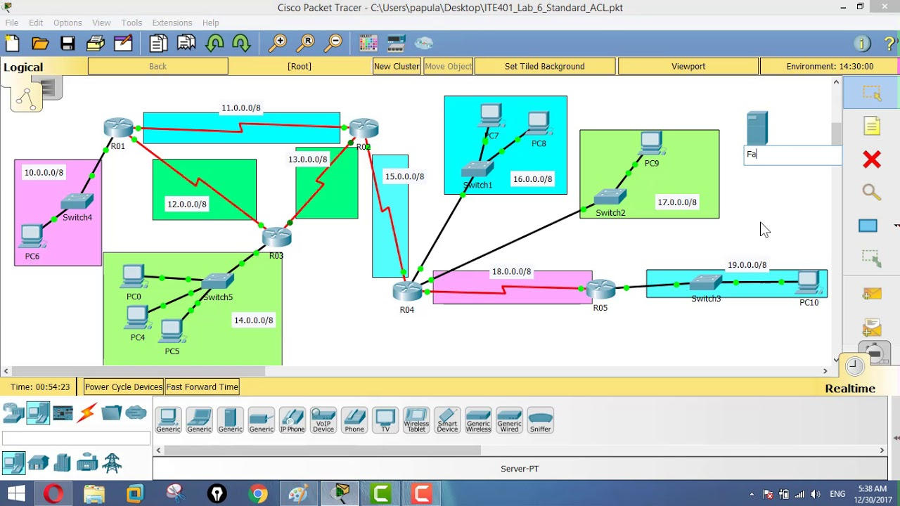 Cisco Packet Tracer tutorial - Configuring Web Server