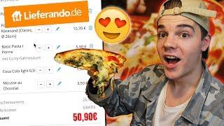 100% ZUFÄLLIG bei PIZZA Lieferservice BESTELLEN! 🍕😍