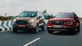 Is Hyundai Venue Better Than Ford EcoSport?   Comparison   Hindi