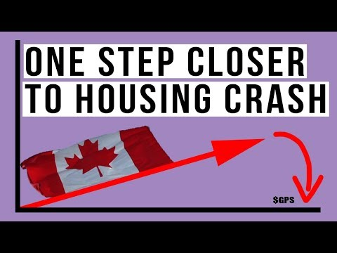 🇨🇦 Canada Just Moved One Step Closer To A Real Estate CRASH! Here's Why
